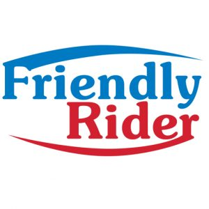 Friendly Rider logo