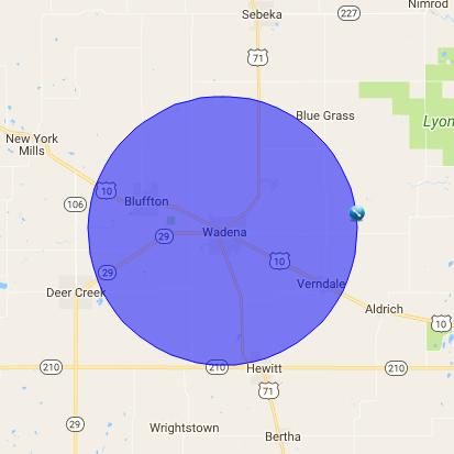 Wadena MN radius (2)