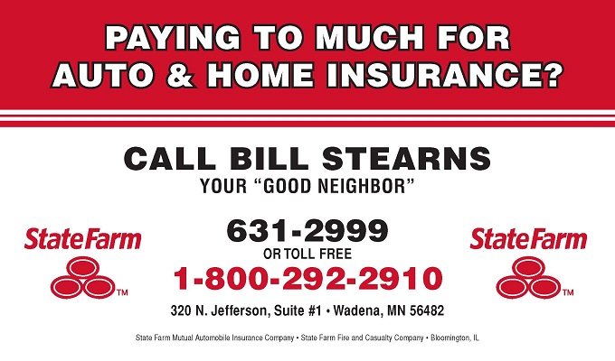 Bill Stearns-State Farm resized