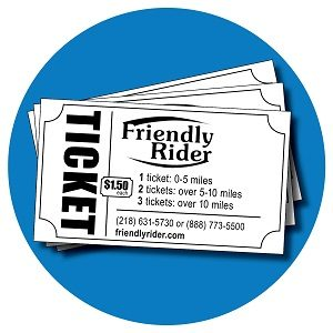 Friendly Rider Tickets